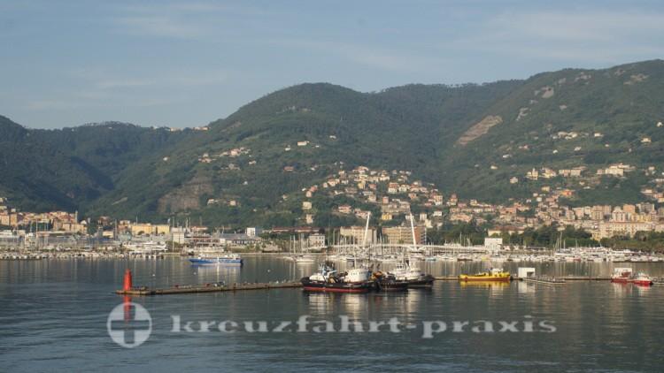 La Spezia - harbor basin