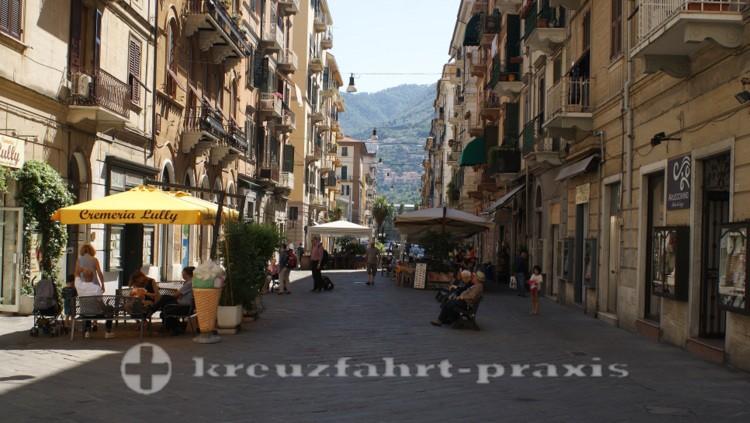 La Spezia - Via dei Mille im Zentrum der Stadt