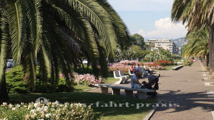 La Spezia - Giardini Pubblici an der Viale Iitalia