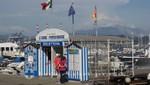 La Spezia - Die nach Cinque Terre fahrende  Fähre
