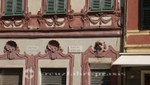 La Spezia - Hausfassade an der Piazza San Agostino