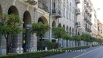 La Spezia - Arkadengänge an der Via Domenico Chiodo