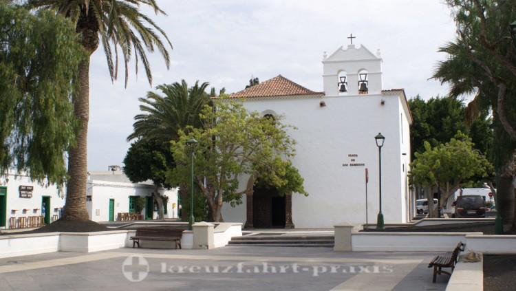 Die Kirche von Yaiza