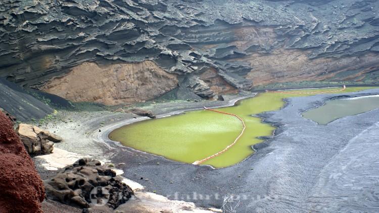 Lanzarote - el Golfo - Lagune Charco de los Clicos