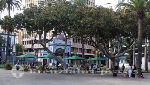 Las Palmas - Café im Parque San Telmo