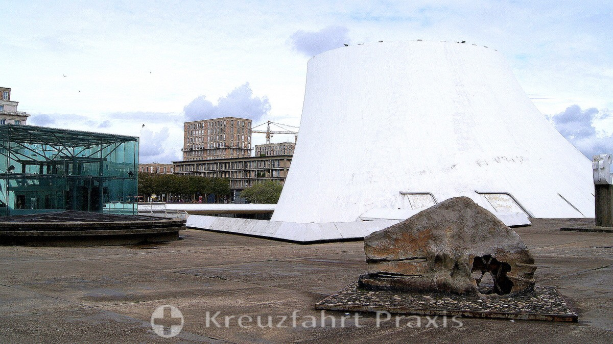 Le Havre - Kulturzentrum Le Volcan