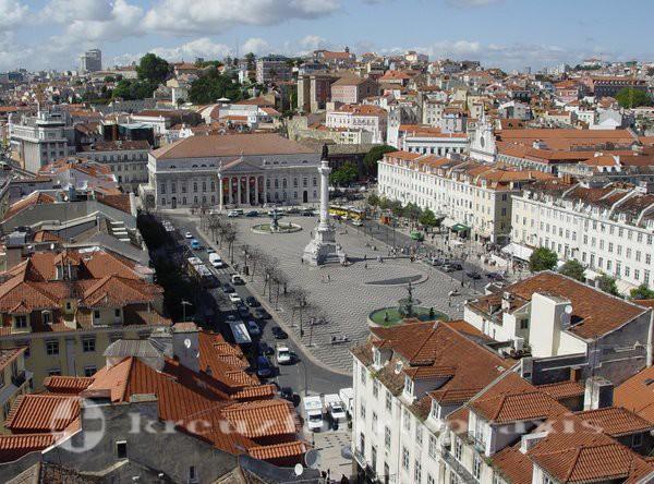 Lissabon - Praca do Pedro IV