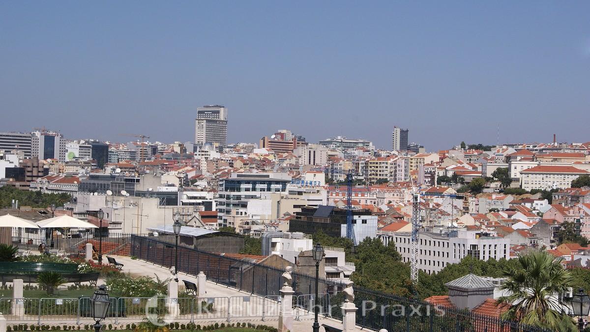 Lisbon's sea of houses