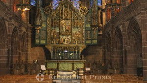 Liverpool Cathedral - Altar in der Lady Chapel