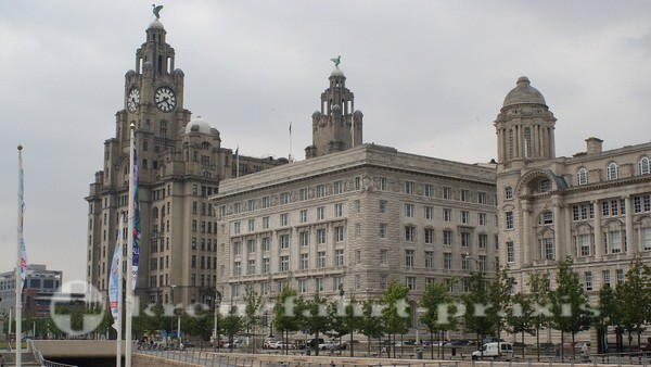 Liverpool - The Three Graces - Synonym für Liverpools ehemalige Bedeutung
