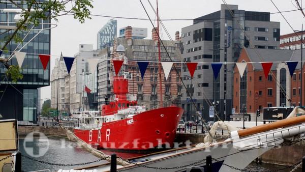 Liverpool - Planet Lightship im Canning Dock