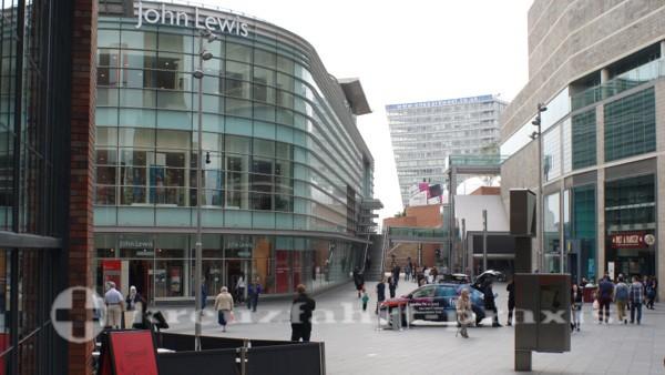 Liverpool - Läden in der Paradise Street