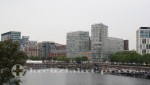 Liverpool - Moderne Hafenskyline vor Albert Dock