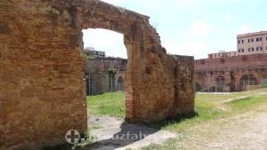 Fortezza Nuova - die innen gelegene Parkanlage
