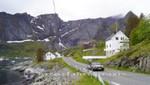 Unterwegs wischen Reine und Hamnøy