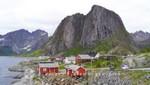 Häuser in Hamnøy