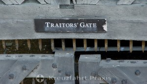 Tower of London - das Traitors' Gate
