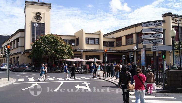 Die Markthalle des Mercado dos Lavradores