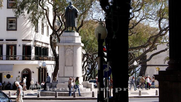 Denkmal des João Goncalves Zarco