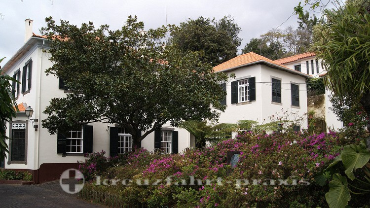 Häuser am Jardim Botânico