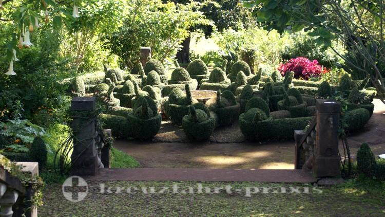 Eine der Gartenanlagen
