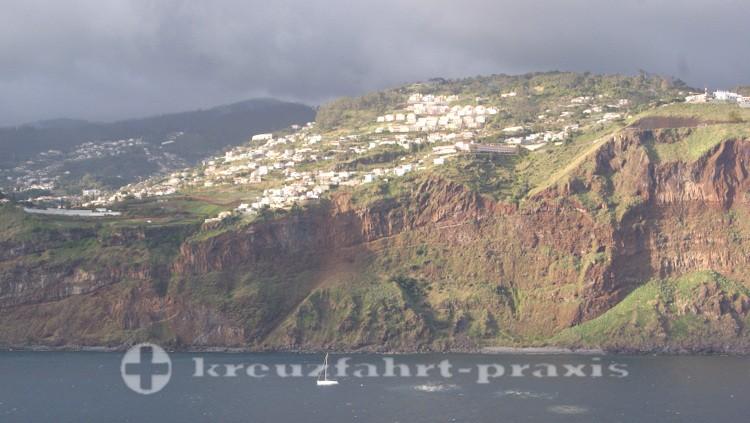 Madeiras wilde Küstenlinie