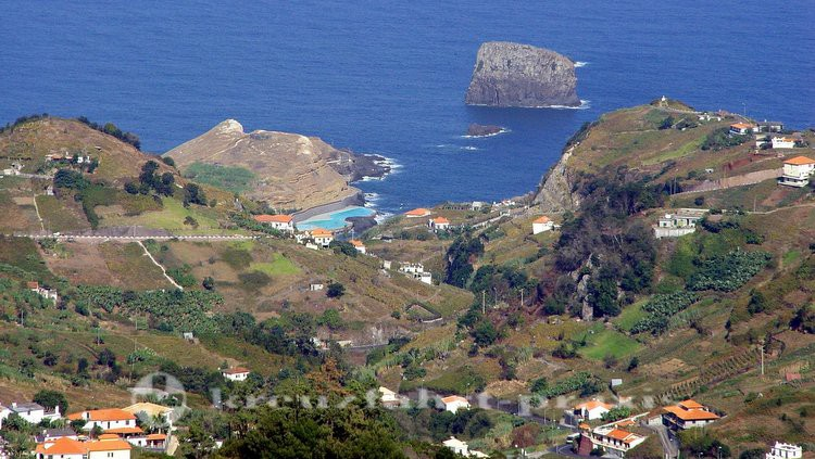 Porto da Cruz im Norden Madeiras