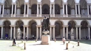 Palazzo di Brera - Courtyard of the Pinacoteca