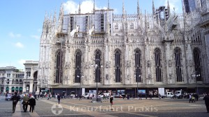 Milan Cathedral - side front