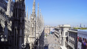 Terrace of the Milan Cathedral