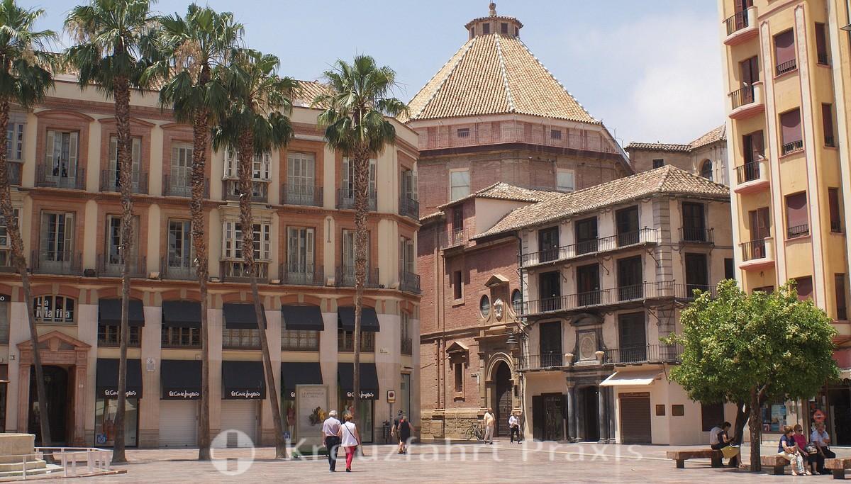 Málaga - Plaza de la Constitución