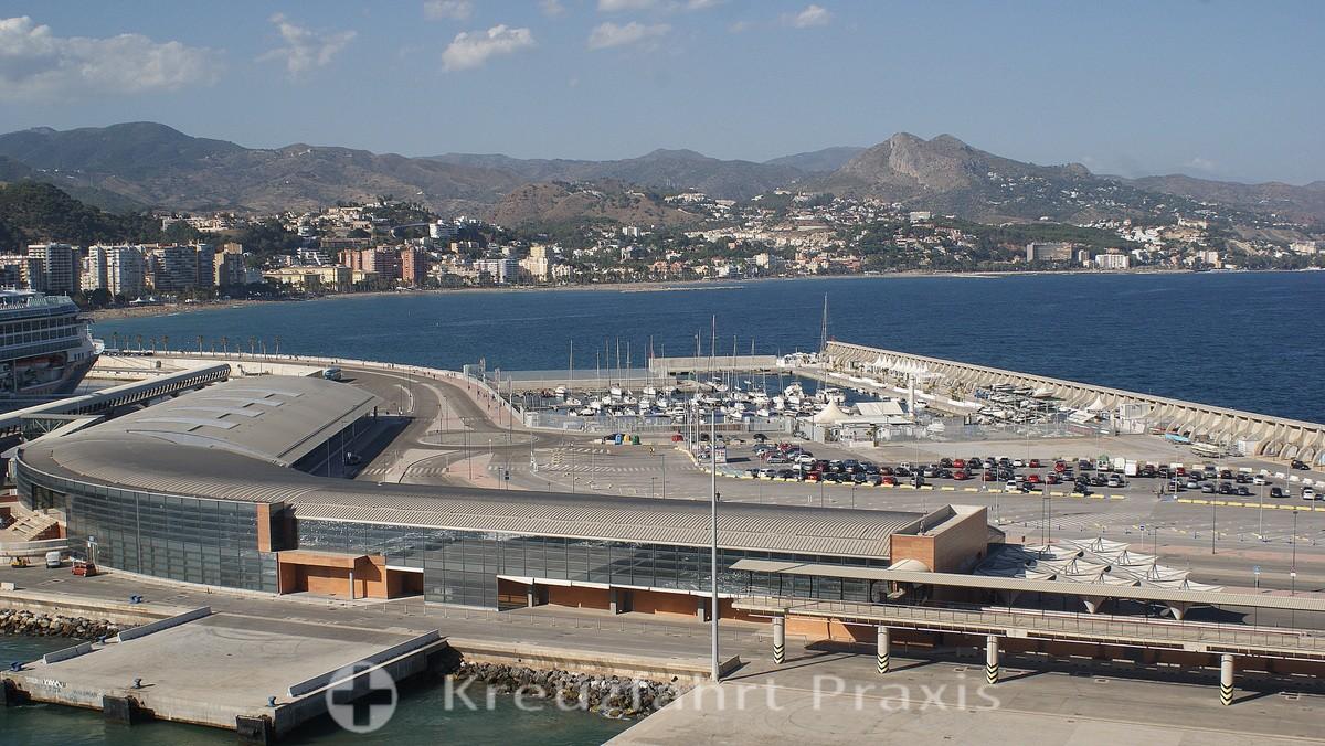 Málaga - cruise terminal