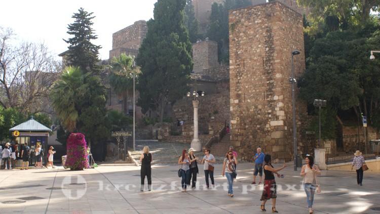 Zugang zur Alcazaba - vom römischen Theater abgehend