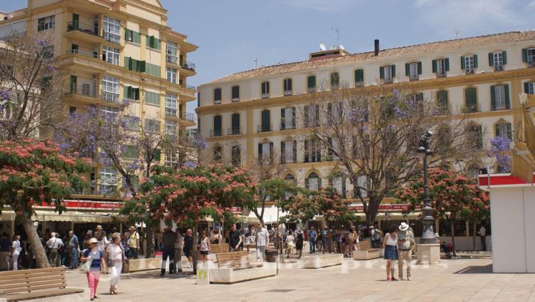 Picassos Geburtshaus an der Plaza de la Merced