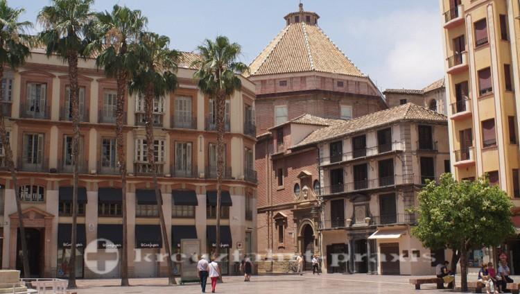 Plaza de la Constitucion und Kirche Santo Cristo de la Salud