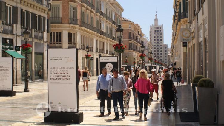 Málaga - Calle Marques de Larios