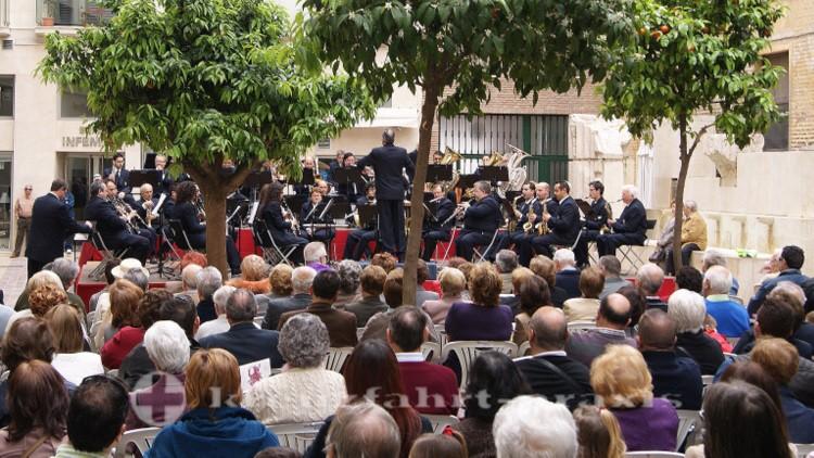 Die Banda Municipal de Música in Aktion