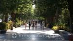Promenade im Parque de Málaga