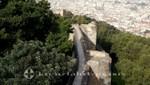 Wehrgang des Castillo de Gibralfaro