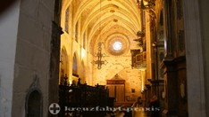 Kirchenschiff der Basilica de Sant Francesc