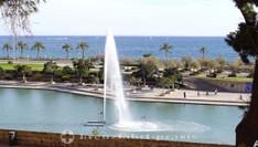 Fontäne im Parc de la Mar