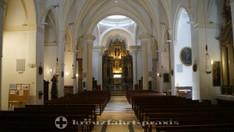 Pfarrkirche Sant Bartomeu - das Kirchenschiff