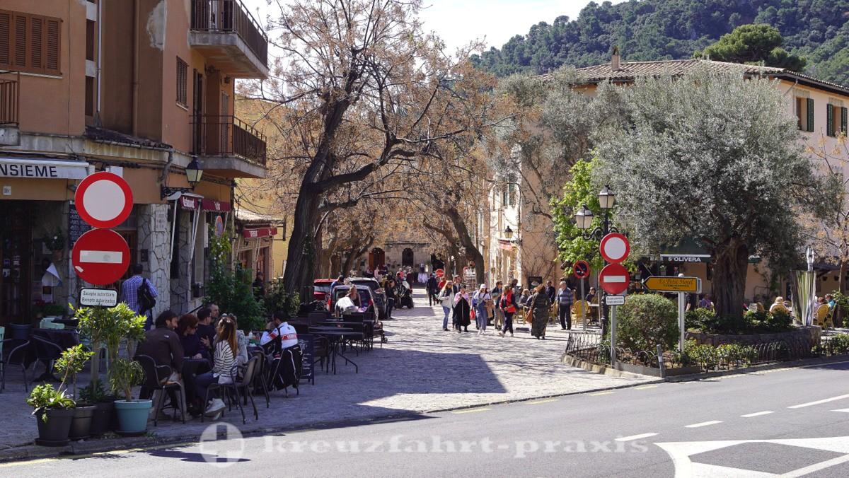 Im Zentrum von Valldemossa
