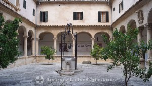 Cloister of the Cathedral of Palma