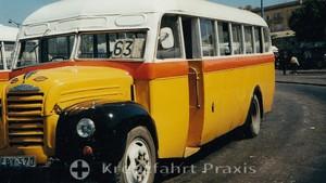 Bus travel in Malta