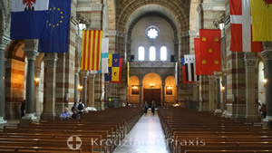 Kathedrale La Major - Mittelschiff