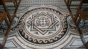 Kathedrale La Major - Mosaikboden