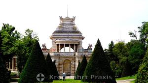 Palais Longchamp - vom Parc Longchamp gesehen