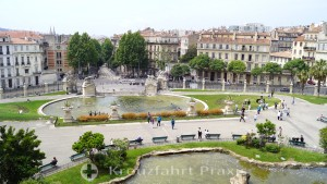 Park landscape of the Musée des Beaux-Arts