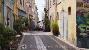 Rue du Panier in the Panier district